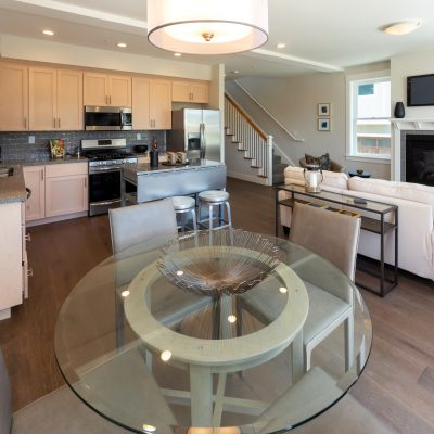 The Aptos Village Dining and Living Room